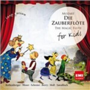 Il flauto magico per bambini - CD Audio di Wolfgang Amadeus Mozart