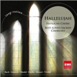 Hallelujah - Festliche Choe - CD Audio
