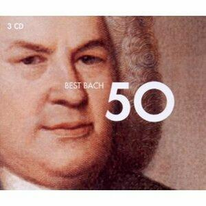 50 Best Bach - CD Audio di Johann Sebastian Bach
