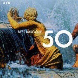50 Best Baroque - CD Audio