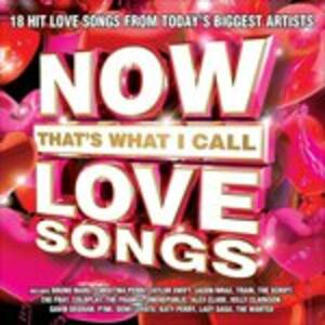 Now Love Songs - CD Audio