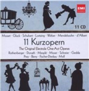 11 Kurzopern 1975 - 1980 - CD Audio
