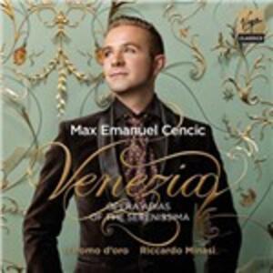 Venezia - CD Audio di Max Emmanuel Cencic,Riccardo Minasi,Il Pomo d'Oro