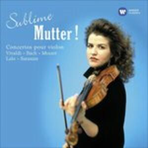 Sublime Mutter! - CD Audio di Anne-Sophie Mutter