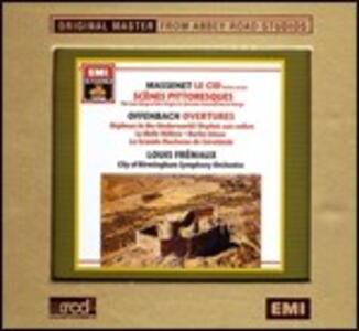 Opere orchestrali - XRCD di Jules Massenet,Jacques Offenbach,Louis Frémaux,City of Birmingham Symphony Orchestra