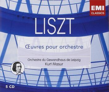 Musica Orchestrale - CD Audio di Franz Liszt,Kurt Masur