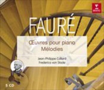 Oeuvre Pour Piano - CD Audio di Gabriel Fauré