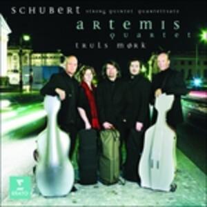 Quintetto per archi in Do - Quartetto per archi n.12 - CD Audio di Franz Schubert,Truls Mork,Artemis Quartet