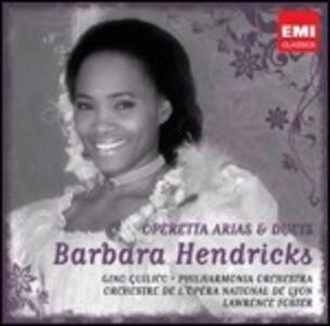 Arie e duetti da operette - CD Audio di Barbara Hendricks