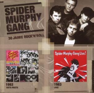 Tutti Frutti 82 - Live 83 - CD Audio di Spider Murphy Gang