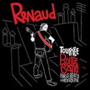 Tournee Rouge Sang - CD Audio di Renaud