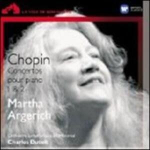 Concerti per pianoforte n.1, n.2 - CD Audio di Fryderyk Franciszek Chopin,Martha Argerich,Charles Dutoit,Orchestra Sinfonica di Montreal