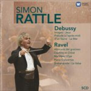 Musica orchestrale - CD Audio di Claude Debussy,Maurice Ravel,Simon Rattle