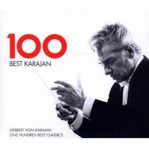 100 Best Karajan - CD Audio di Herbert Von Karajan