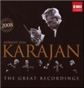 The Great Recordings - CD Audio di Herbert Von Karajan