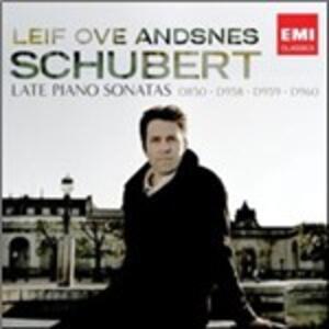 Le ultime sonate per pianoforte - CD Audio di Franz Schubert,Leif Ove Andsnes