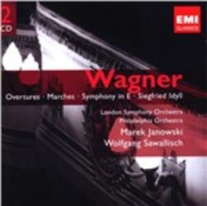 Overtures - Marce - CD Audio di Richard Wagner