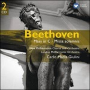 Messa in Do - Missa Solemnis - CD Audio di Ludwig van Beethoven,Carlo Maria Giulini