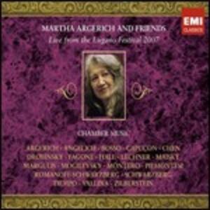 Live from Lugano Festival 2007 - CD Audio di Martha Argerich