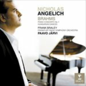 Piano Concert No. 1 - Hungar - CD Audio di Johannes Brahms