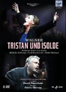 Richard Wagner. Tristan Und Isolde (3 DVD) di Patrice Chéreau - DVD