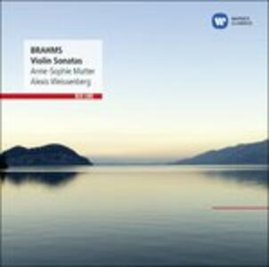 Sonate per violino n.1, n.2, n.3 - CD Audio di Johannes Brahms,Anne-Sophie Mutter