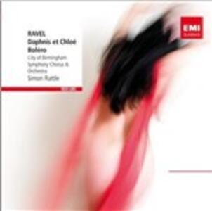Daphnis et Chloé - Bolero - CD Audio di Maurice Ravel,Simon Rattle