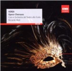 Cori d'opera - CD Audio di Giuseppe Verdi,Riccardo Muti