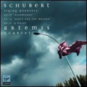 Quartetti per archi n.13, n.14, n.15 - CD Audio di Franz Schubert,Artemis Quartet