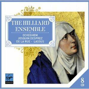The Hilliard Ensemble - CD Audio di Orlando Di Lasso,Pierre De La Rue,Josquin Desprez,Johannes Ockeghem,Hilliard Ensemble