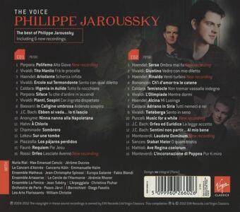 The Voice - CD Audio di Philippe Jaroussky - 2