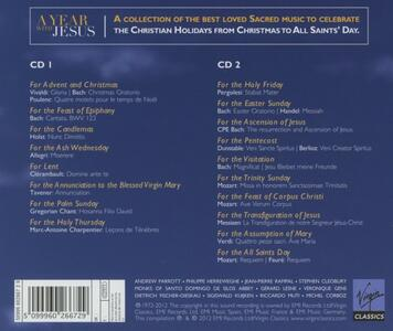 A Year with Jesus - CD Audio - 2