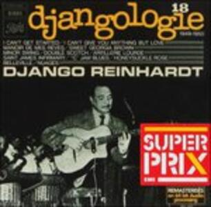 Volume 18 - CD Audio di Django Reinhardt