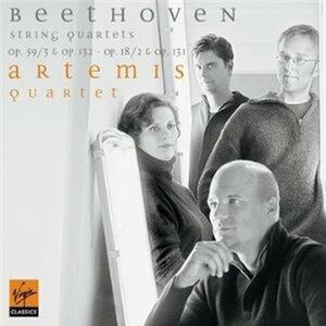 Quartetti per archi op.59 n.3, op.132, op.18 n.2, op.131 - CD Audio di Ludwig van Beethoven,Artemis Quartet