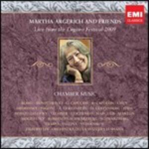 Live from Lugano Festival 2009 - CD Audio di Martha Argerich