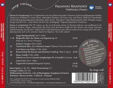 Paganini Rhapsody - CD Audio - 2