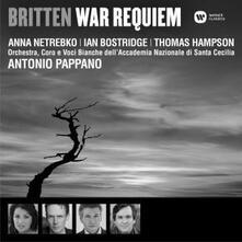 War Requiem - CD Audio di Benjamin Britten,Anna Netrebko,Thomas Hampson,Ian Bostridge,Antonio Pappano,Orchestra dell'Accademia di Santa Cecilia