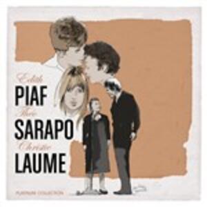 Platinum - CD Audio di Edith Piaf,Christie Laume,Theo Sarapo