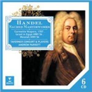Sacred Masterworks - CD Audio di Georg Friedrich Händel