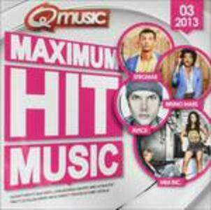 Maximum Hit Music 2013 - CD Audio