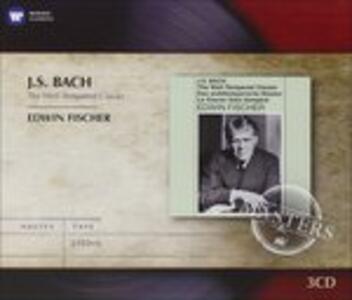 Il clavicembalo ben temperato (Das Wohltemperierte Clavier) - CD Audio di Johann Sebastian Bach,Edwin Fischer