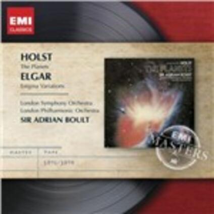 Variazioni Enigma / I pianeti - CD Audio di Edward Elgar,Gustav Holst,Sir Adrian Boult