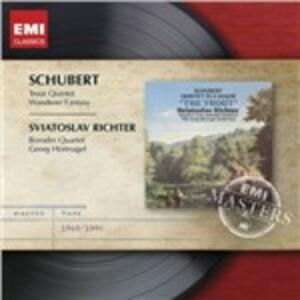 Quintetto La trota - Fantasia Wanderer - CD Audio di Franz Schubert,Sviatoslav Richter,Borodin String Quartet