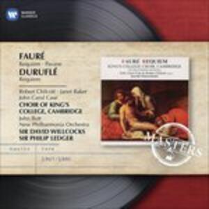 Requiem - Pavane / Requiem - CD Audio di Gabriel Fauré,Maurice Duruflé,New Philharmonia Orchestra,Philip Ledger