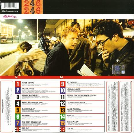 Parklife (Remastered Limited Edition) - Vinile LP di Blur - 2