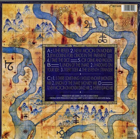 Seven and the Ragged Tiger - Vinile LP di Duran Duran - 2