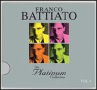 The Platinum Collection vol.3 - CD Audio di Franco Battiato
