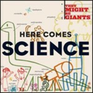 Here Comes Science - CD Audio + DVD di They Might Be Giants