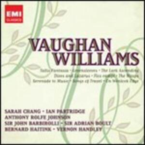 The Lark Ascending - Fantasia su un tema di Thomas Tallis - Greensleeves - On Wenlock Edge - CD Audio di Ralph Vaughan Williams,Sarah Chang,Anthony Rolfe Johnson,Ian Partridge