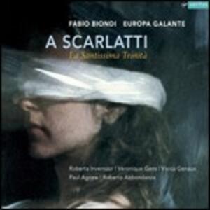 La Santissima Trinità - CD Audio di Alessandro Scarlatti,Fabio Biondi,Veronique Gens,Paul Agnew,Roberta Invernizzi,Vivica Genaux,Europa Galante